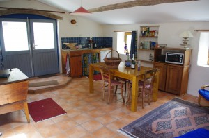 intérieur coté cuisine